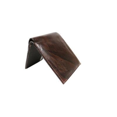 Leather Brown Men Wallet ( 3 Card Slots)