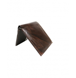 Leather Brown Men Wallet ( 3 Card Slots)