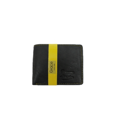 Leather  Men's Wallet ( 3 Card Slots)