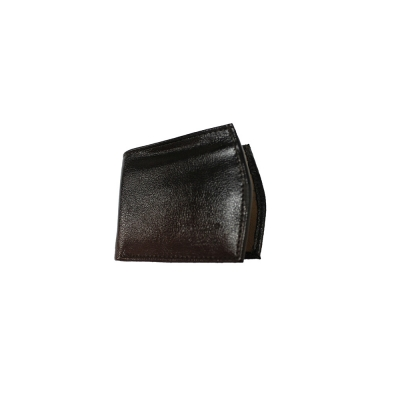 Genuine Leather  Brown & Beige Wallet For Man's
