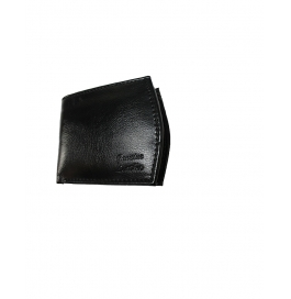 Genuine Leather Black& Brown Wallet For Man