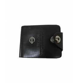 Men Leather Wallet Black Color