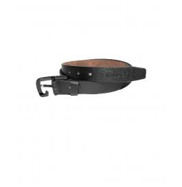 Mens Genuine Leather Belt - Classic Century Range Black & Brown