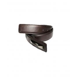Mens Genuine Leather Belt - Classic Century Range Brown