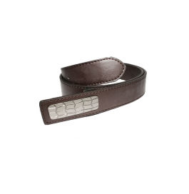 Mens Genuine Leather Belt - Classic Century Range Brown