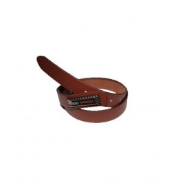 Men's Classic Leather Brown Belt