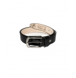 Men's Classic Leather Belt, Black Colors, Regular Big & Tall Sizes