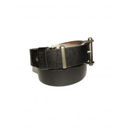 Men's Classic Dress Leather Belt, Black Colors, Regular Big & Tall Sizes