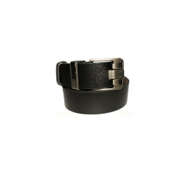 Men's Classic Leather Belt, Black Colors,regular Big & Tall Sizes