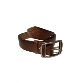 Men's Classic Leather Belt,dark  Brown Colors, Regular Big & Tall Sizes