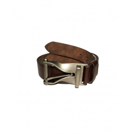 Men's Classic Leather Belt,black& Brown Colors, Regular Big & Tall Sizes