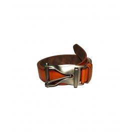 Men's Classic Leather Belt,black& Brown Colors, Regular Big & Tall Sizes