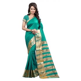 Border Pan Rama Saree