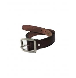 Men Casual Genuine Leather Belt Brown