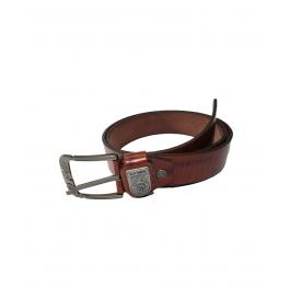 Men Formal Brown Genuine Leather Belt