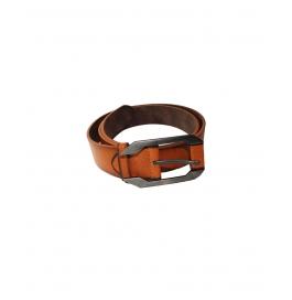 Men Casual Formal Dark Brown Belt