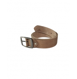 Woodland Brown Leather Formal Belts