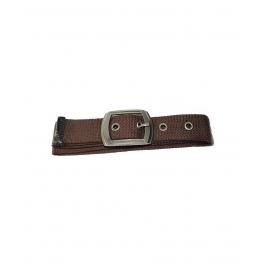 Boys Casual Brown Color Canvas Belt