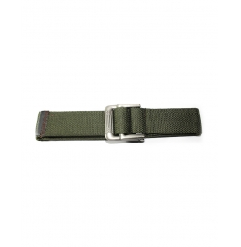 Boys Casual Green Color Canvas Belt