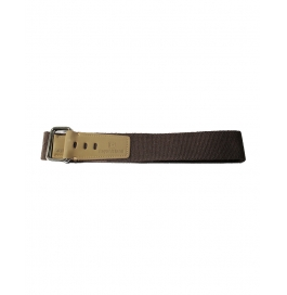 Boys Casual Brown  Canvas Belt