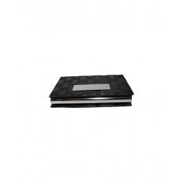 Blocking Stainless Steel Black  Card Holder Case
