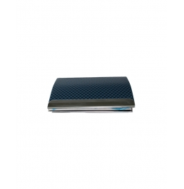 Blocking Stainless Steel Blue  Card Holder Case