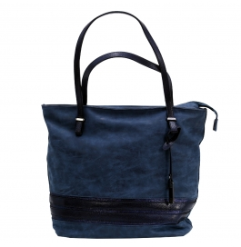 Knight Vogue Hand Bag Blue