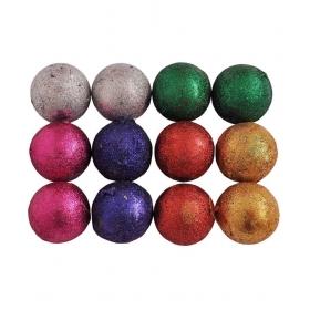 Indigo Creatives Christmas Tree Balls For Decoration - Pack Of 12