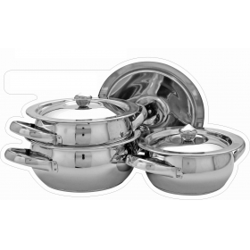 3 Pc Sb Handi Set - Induction Bottom