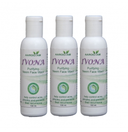 Ivona Neem Face Wash Pack Of 3