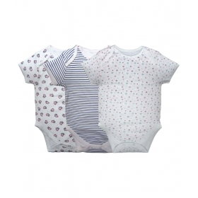 Baby Gilrs Cotton Romper - Pack Of 3