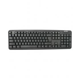 Intex Slim Cube Usb Black Usb Wired Desktop Keyboard