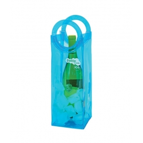 Bottle Bubble Ice Bag - Blue