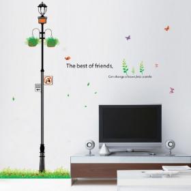 Ay737 Tower Light Smart Look Wall Sticker  Jaamso Royals