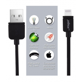 Apple Iphone Data / Charging / Usb Cable ( Color - Black)