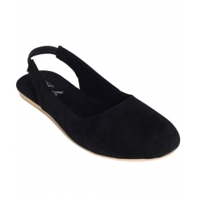 Jade Sophisticated Black Sandals