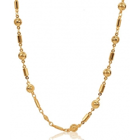 Galaxy Divine Look 18 Kt Gold Plated Chain
