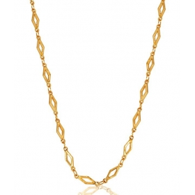 Galaxy Imperial 18 Kt Gold Plated Chain