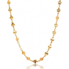 Galaxy Incredibly Designed 18 Kt Gold Plated Chain