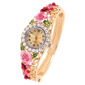 Luxuria Women Bracelet Fashion Gold Plated Wedding/party Bracelet