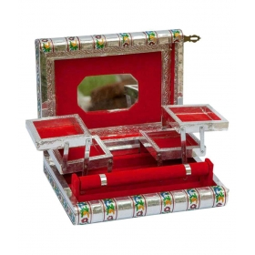 Multicolor Wood Jewellery Box