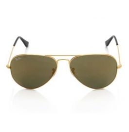 Sunglasse Golden Brown Aviator Goggles For Man