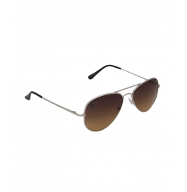 Sunglasses  Brown Aviator Goggles For Man