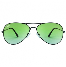 Sunglasses Green Avaitor Goggles