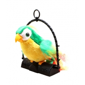7 Inch Talk Talking Back Parrot Bird Kids Toy 80