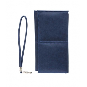 Leather Wallet Universal Pouch Cover Case For Nokia Lumia 830dark Blue