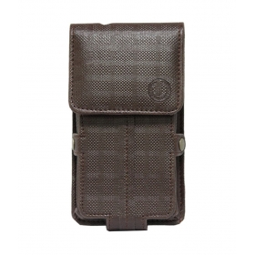 D4 Series Leather Pouch Holster Case For Xiaomi Mi 4 Brown