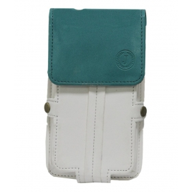 Nillofer Series Leather Pouch For Sony Xperia Z1 Compact - White