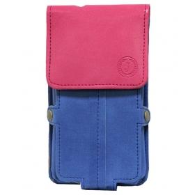 Jo Jo Pouch For Coolpad Dazen 1-blue & Pink