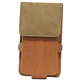 Pouch For Xiaomi Mi 5 Plus-orange & Tan